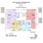 жд № 1 в 106 мкр. 2-8 этаж под.№2 блок-оси 8-9