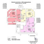 жд № 1 в 106 мкр. 3-8 этаж блок-оси 10-11