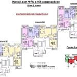 жд 7А в 106 мкр 1 этаж
