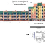 от 30.09.13г.жд №2 в мкр. 5.4 7 оч.главный фасад со стороны ул. Сазонова